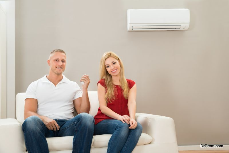 Using of air-conditioner