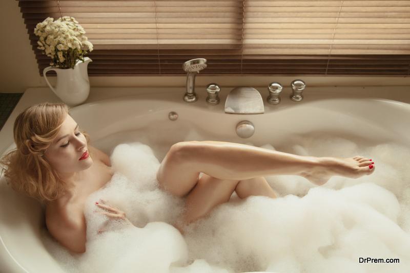 designer bathtub
