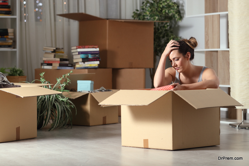 Moving is stressful