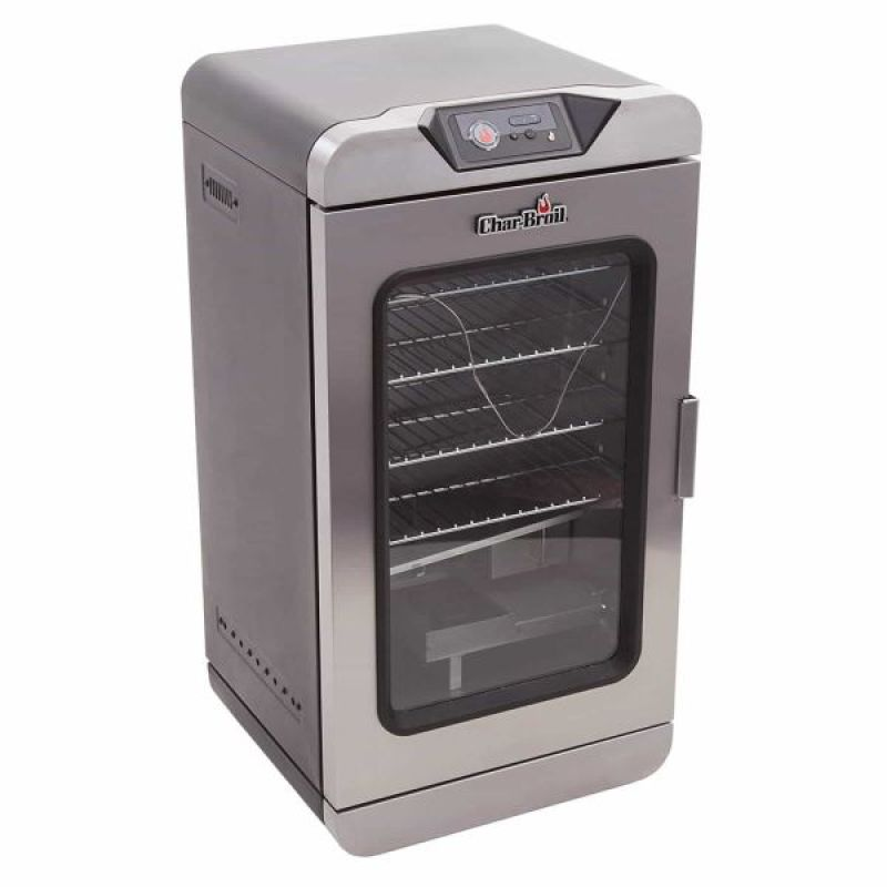 Char Broil Digital Electric Smoker with Smart Chef Tech