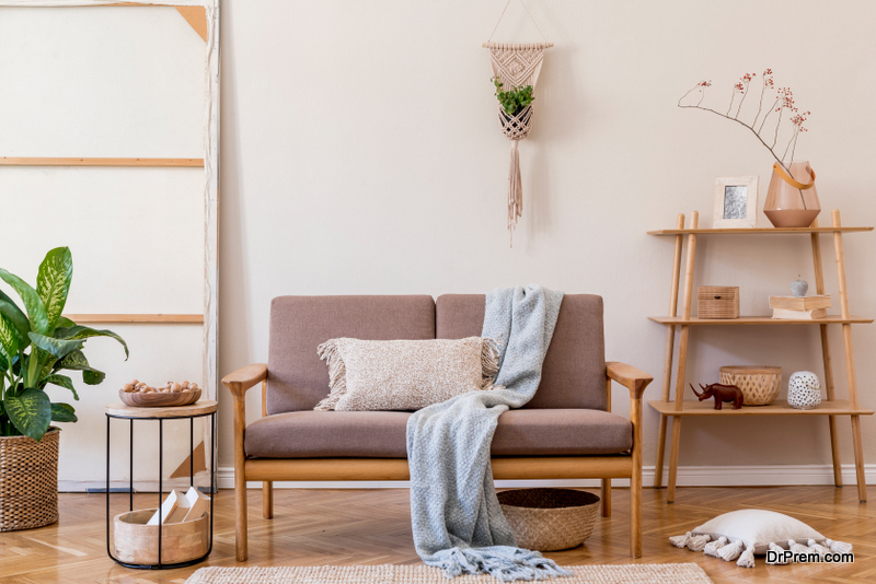 Staging enables you to modernize the look