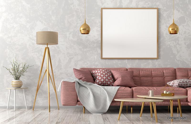 Pastel colour decor
