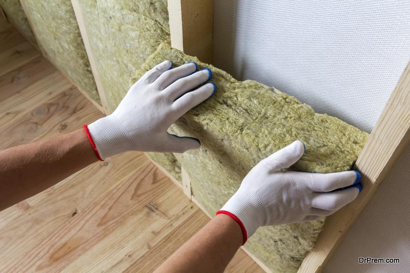 proper insulation