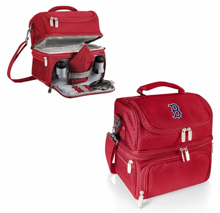 Boston Red Sox Pranzo Insulated Lunch Bag Tote Red