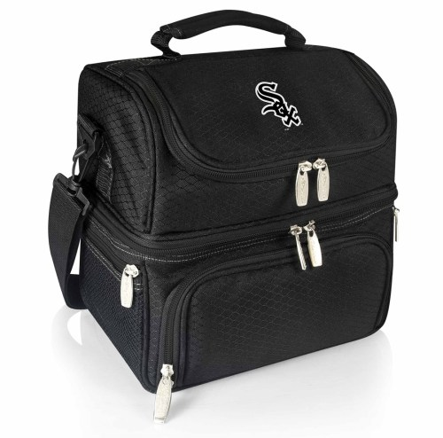 Chicago White Sox Pranzo Insulated Lunch Bag Tote Black