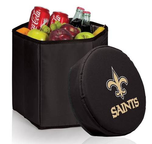 New Orleans Saints Bongo Cooler Black