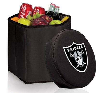 Oakland Raiders Bongo Cooler Black
