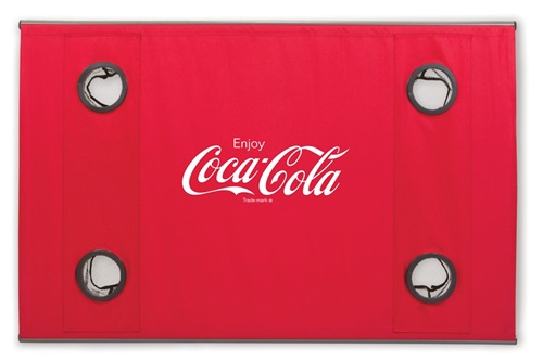 Coca-Cola Soft-top Travel Table Red
