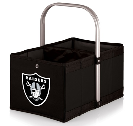 Oakland Raiders Urban Canvas Basket