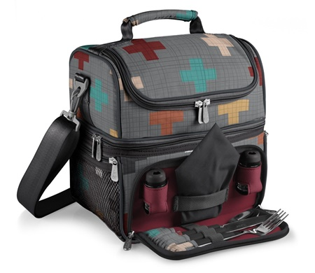 Pranzo-Pixels-Insulated-Cooler-Lunch-Tote