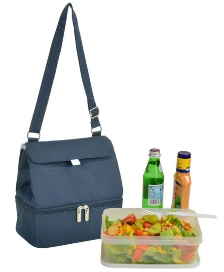 Picnic at Ascot 529-B Cooler Lunch Bag Navy