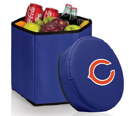 Chicago Bears Bongo Cooler Blue