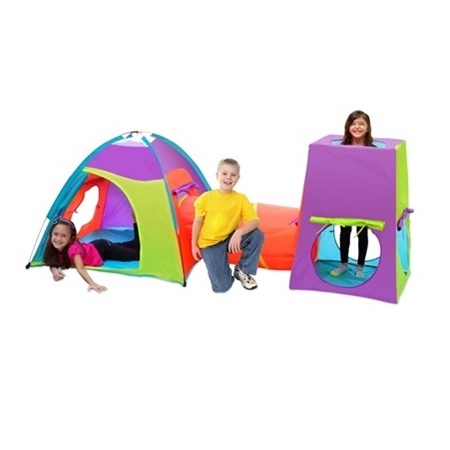 Fun Center Play Tent Tunnel Combo  sc 1 st  HometoOutdoors : tent and tunnel combo - memphite.com
