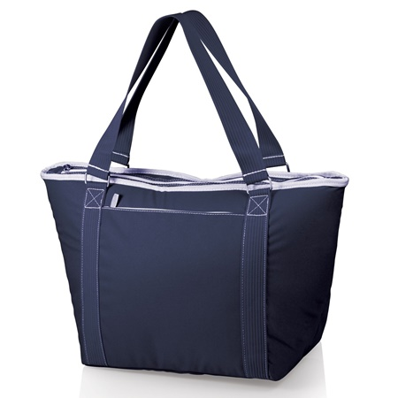 Topanga Large Insulated Cooler Tote Navy