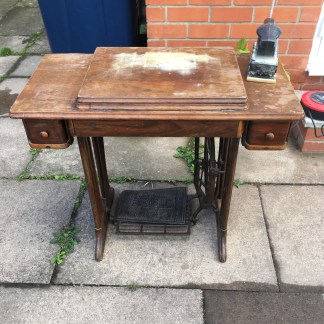 Singer Sewing machine in need of restoration