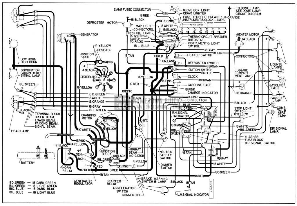 53 Buick Wiring Diagram