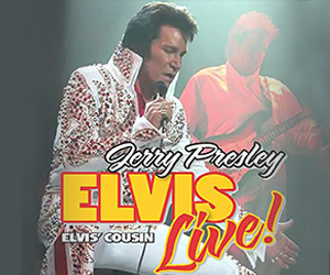 See Elvis Live! at God & Country Theatre
