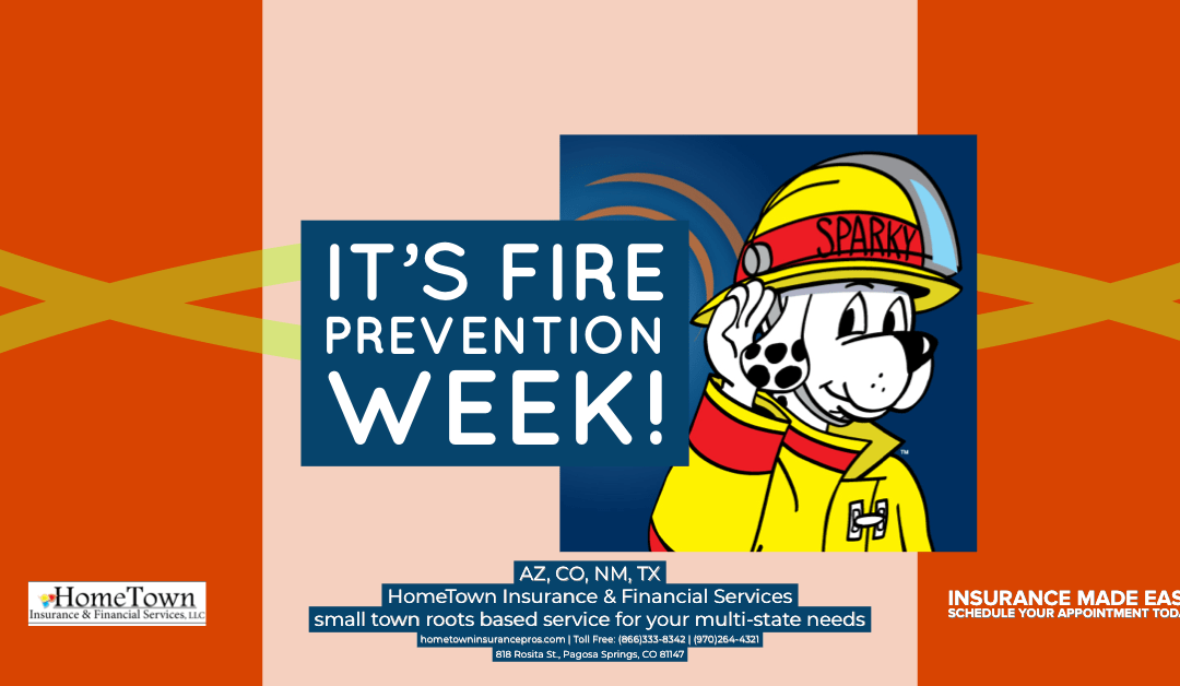 Fire Prevention Week – Resources and Fire Safety Information