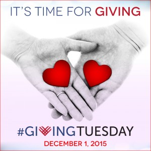 picture of hearts and hands giving tuesday