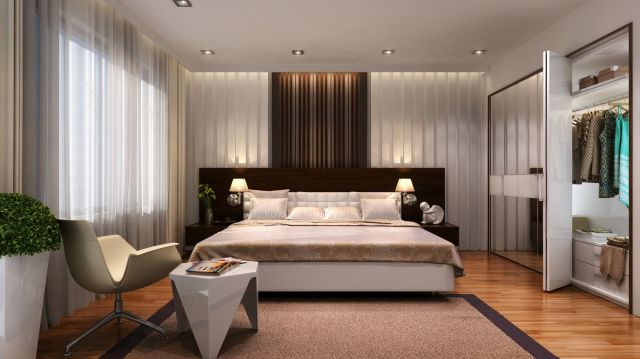 Modern Minimalist Style Bedroom Decoration Ideas 4