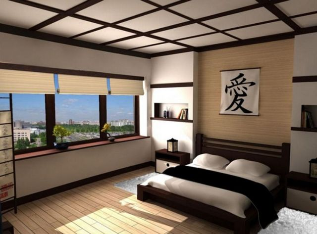 Decorating Ideas Modern Japanese style bedrooms 3