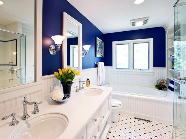 Wall Paint Color Combination Ideas For Bathrooms 1