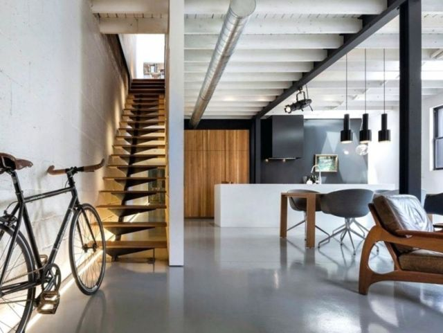 Modern Rustic Stair Design Ideas for Your Minimalist Home 1