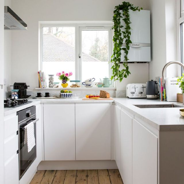 2 Enough Light Illuminating Your Small Kitchen