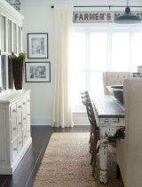 Enhance Dinning Room With Farmhouse Table 159