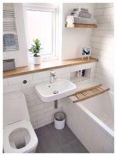 Extraordinary White Bathroom Ideas 139