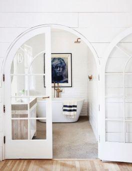 Extraordinary White Bathroom Ideas 147