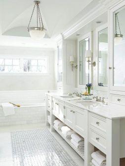 Extraordinary White Bathroom Ideas 212
