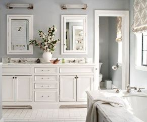 Extraordinary White Bathroom Ideas 11