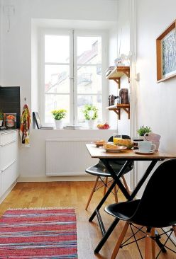 Design Space Saving Dining Room For Your Apartment 85