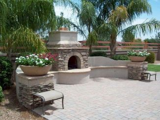 Ultimate Backyard Fireplace Sets The Outdoor Scene 107