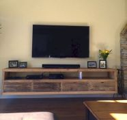 50 ++ Amazing Living Room Designs With Floating Shelves 80