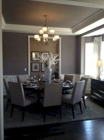 Round Dining Room Tables Decoration Ideas 1