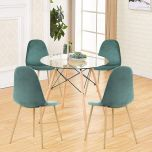Round Dining Room Tables Decoration Ideas 32