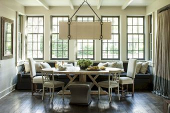 Round Dining Room Tables Decoration Ideas 34