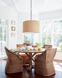 Round Dining Room Tables Decoration Ideas 81