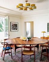 Round Dining Room Tables Decoration Ideas 94