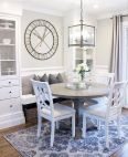 Round Dining Room Tables Decoration Ideas 118