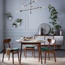 Round Dining Room Tables Decoration Ideas 133