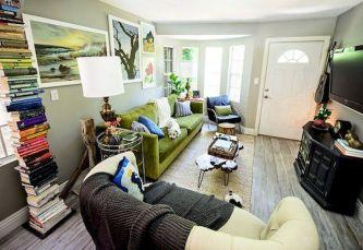 Minimalist Living Room Decor For Apartment 16
