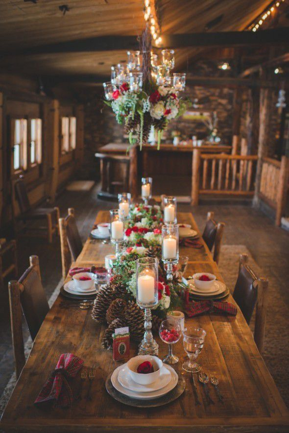 Adorable Beautiful Winter Wedding Decoration Ideas