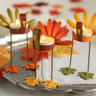 Elegant Thanksgiving Candle Displays Ideas And Placements