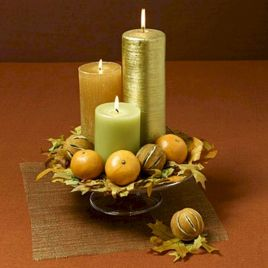 Fantastic Thanksgiving Candle Displays Ideas And Placements