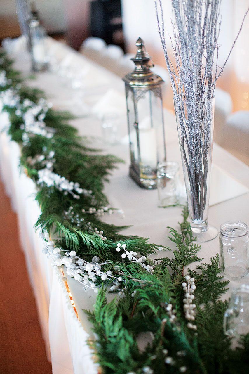 Glorious Beautiful Winter Wedding Decoration Ideas