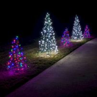Implausible Outdoor Christmas Lights Decoration Ideas