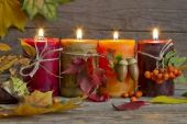 Implausible Thanksgiving Candle Displays Ideas And Placements
